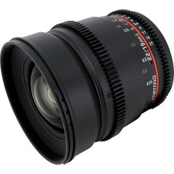 Samyang 16mm T2.2 VDSLR ED AS IF UMC
