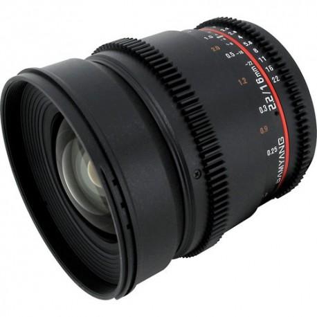 Samyang 16mm T2.2 VDSLR ED AS IF UMC