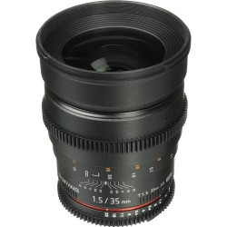 Samyang 35mm T1.5 VDSLR AS UMC II