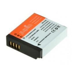 Jupio Panasonic CGR-S602E / DMW-BC14 (1400 mAh)