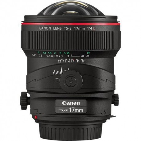 Canon 17mm f4 TS E