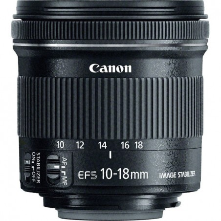 Canon 10-18mm f4.5-5.6 EFS IS STM
