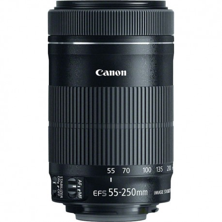 Objetivo Canon 55-250mm f4-5.6 EFS IS STM