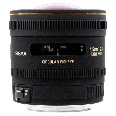Sigma 4.5mm f2,8 EX DC HSM