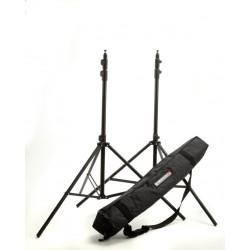 Elinchrom kit 2 Pies de estudio Air 105-264