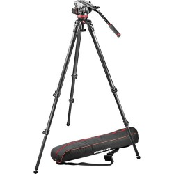 Manfrotto Kit Video MVK502C-1 Trípode fibra carbono MPRO535 + Rótula MVH502A