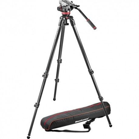 Manfrotto Kit Video MVK502C-1 Carbono MPRO535 + Rót. MVH502A