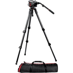 Manfrotto Kit Video Trípode Carbono MPRO 535 + Rót. 504HD