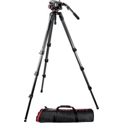 Manfrotto Kit Video Trípode Carbono MPRO 536 + Rót. 504HD