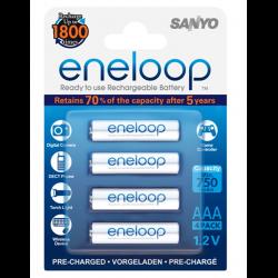 Sanyo Eneloop Bateria AAA Recargable 2100 mAh (4 Unidades)
