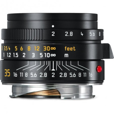 Leica 35mm f2 Summicron Asph negro
