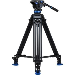 Benro Kit Trípode Video Doble Tubo Alum. A673TMBS8
