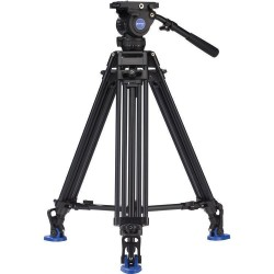 Benro Kit Trípode Video Doble Tubo Alum. BV8