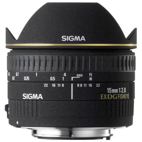 Sigma 15mm f2,8 EX DG
