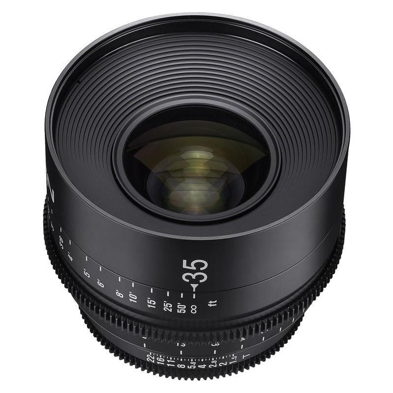 Samyang Xeen 35mm | Objetivo Xeen 35mm
