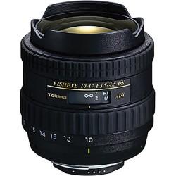 Tokina ATX 10-17mm DX f/3.5-4.5 FISH EYE NH Canon