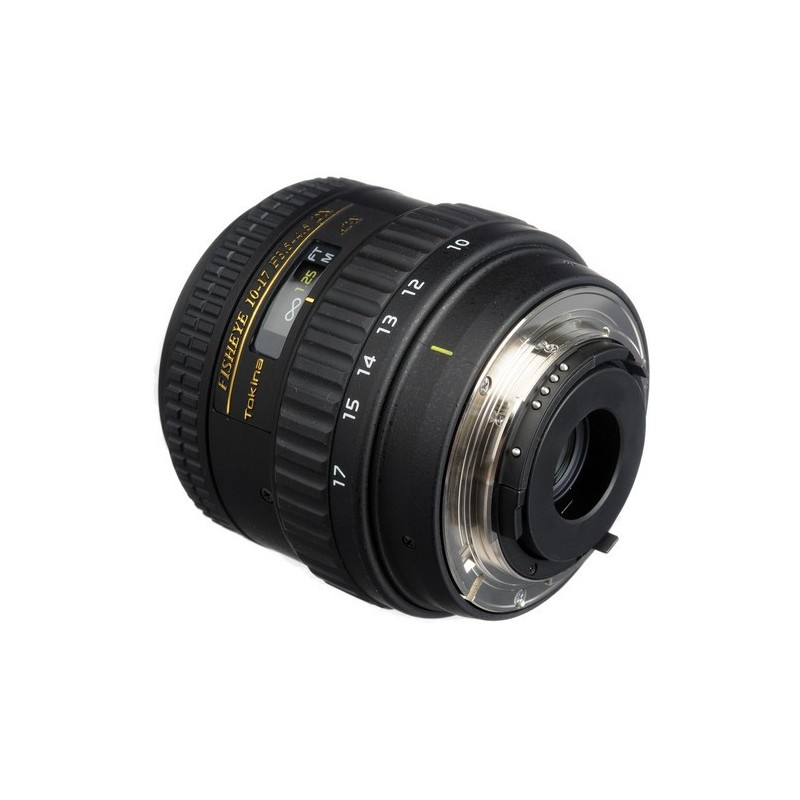 Tokina ATX 10-17mm DX f/3.5-4.5 FISH EYE NH Nikon