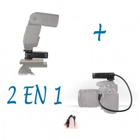 Combi TF Remote Control & Flash Trigger for Nikon DSLRs