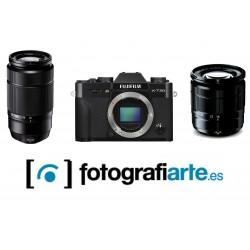 Fuji XT20 + 16-50mm + 50-230mm
