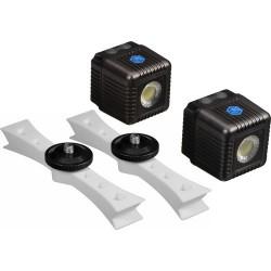 Lume Cube Kit Mont. DJI Phantom 3 + 2 Lume Cube Gris