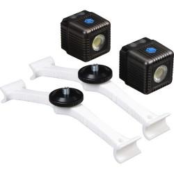 Lume Cube Kit Monturas DJI Phantom 4 + 2 Lume Cube Gris