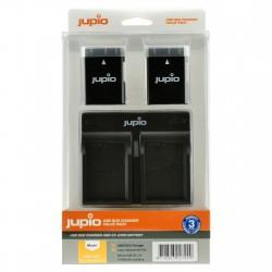 Jupio Kit Batería EN-EL14A + Cargador DUAL USB