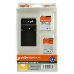 Jupio Kit Batería EN-EL12 + Cargador USB