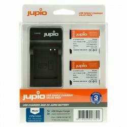 Jupio Kit Batería DMW-BCM13E + Cargador USB
