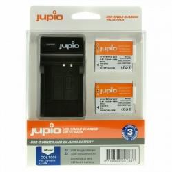 Jupio Kit Batería Li90B/Li92B + Cargador USB