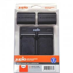 Jupio Kit Batería NP-BX1 + Cargador Dual USB
