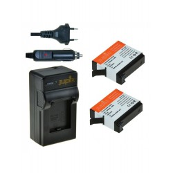 Jupio Kit GoPro AHDBT-401 Hero 4 + Cargador Dual USB