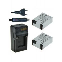 Jupio GoPro AHDBT-302 Hero3+ Cargador Dual USB