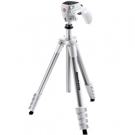 Manfrotto Compact Action Blanco