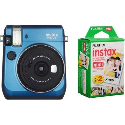 Fuji Kit INSTAX MINI 70 Blue + Film