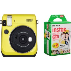 Fuji Kit INSTAX MINI 70 Yelow + Film