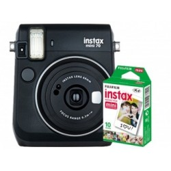 Fuji Kit INSTAX MINI 70 Black + Film