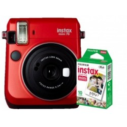 Fuji Kit INSTAX MINI 70 Red + Film