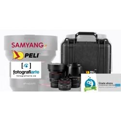 Samyang AF Kit Maleta