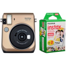 Fuji Kit INSTAX MINI 70 Gold + Film