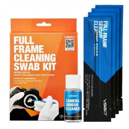 VSGO Bastones de Limpieza para Sensor Full Frame