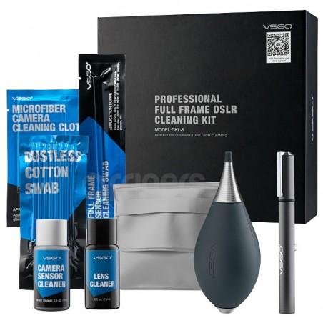 VSGO Kit completo de limpieza profesional DSLR Full Frame