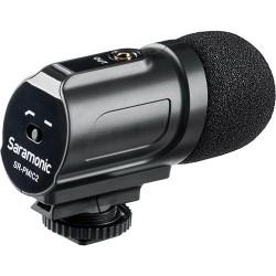 Saramonic SR-PMIC2 Micrófono Estéreo DSLR