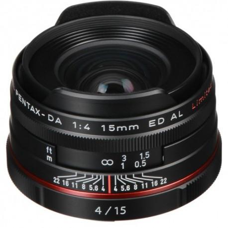 Objetivo Pentax 15mm f4 ED