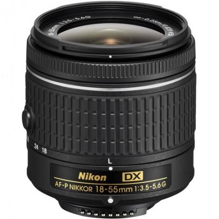 Nikon 18-55mm f3.5-5.6 G AF-P DX
