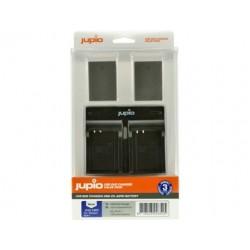 Jupio Kit Batería 2 unid BLN-1 + Cargador Doble