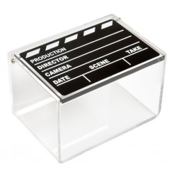 Polaroid Movie Clapboard Storage Boxes