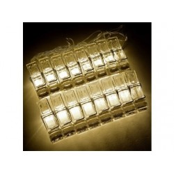 Polaroid Photo Clip Led Clear Light String