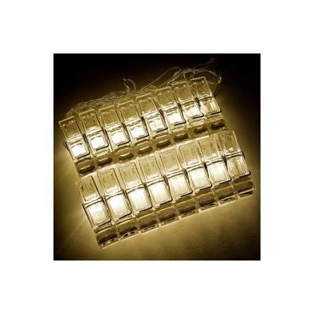 Polaroid Photo Clip Led Clear Light String