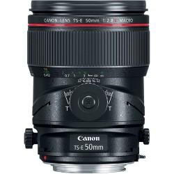 Objetivo Canon 50mm f2.8 TS E