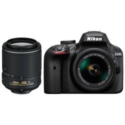 Nikon D3400 + 18-55mm + 55-200mm